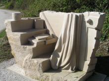 Sculpture at Par Beach